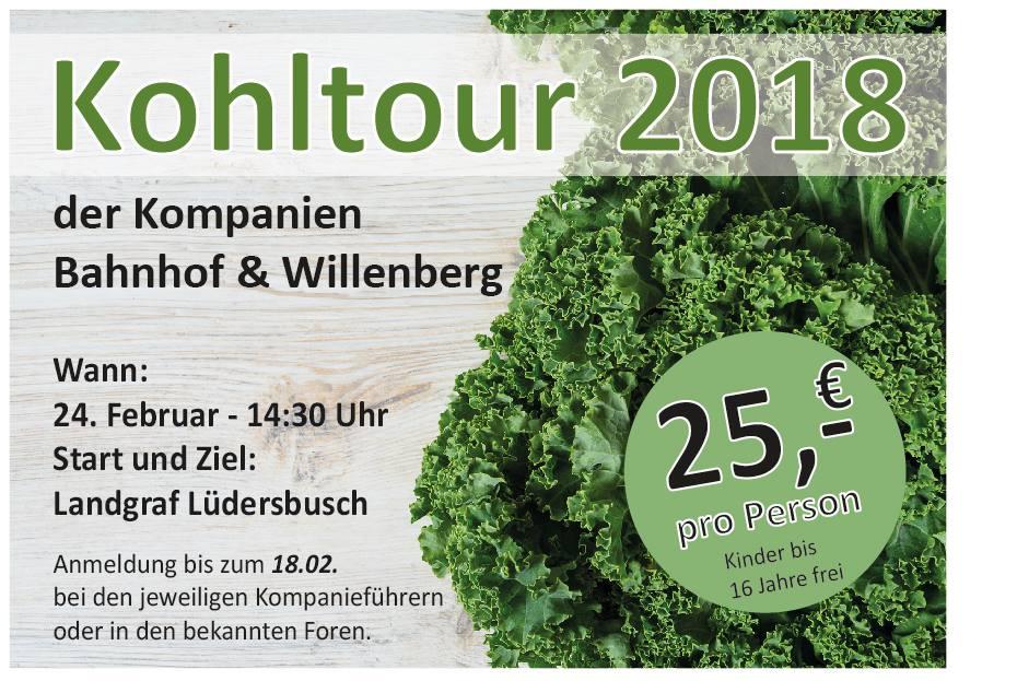 Kohltour 2018