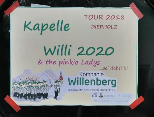 Kapelle Willi 2020 featuring the pinkie Girlys