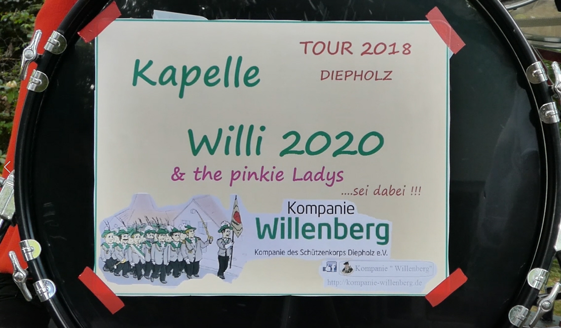Kapelle Willi 2020 featuring the pinkie Girlys